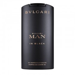 Bulgari Man In Black Shampoo & Shower Gel