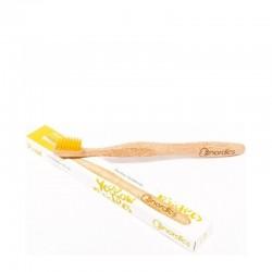 Nordics Bamboo Toothbrush with Yellow Bristles