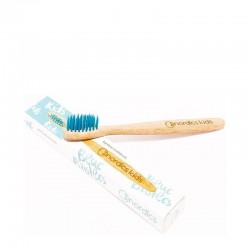 Nordics Kids Bamboo Toothbrush with Blue Bristles