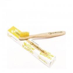 Nordics Kids Bamboo Toothbrush with Yellow Bristles