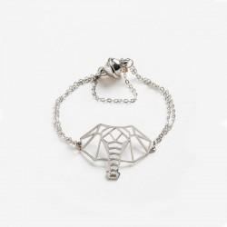 Power Of Symbol Elephant Madness Free Nikel Chain Bracelet