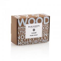 Blue Scents Bath Soap Wood