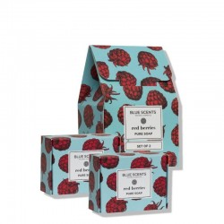 Blue Scents Soap Set Red Berries