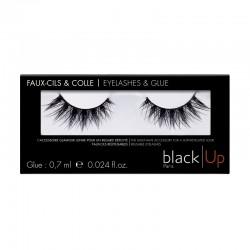 Black Up Queen of Saba False Lashes & Glue