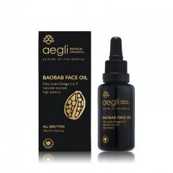 Aegli Premium Organics Baobab Elixir Dry Face Oil