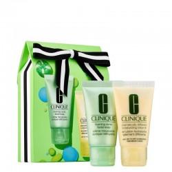 Clinique Sparkle & Glow Set (Moisturizing Lotion+Facial Soap)