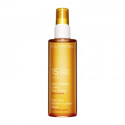 Clarins Sun Care Oil-Free Lotion Spray Moderate Protection UVB/UVA 15