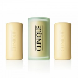 Clinique 3 Little Soaps with Travel Dish Oily Skin Formula