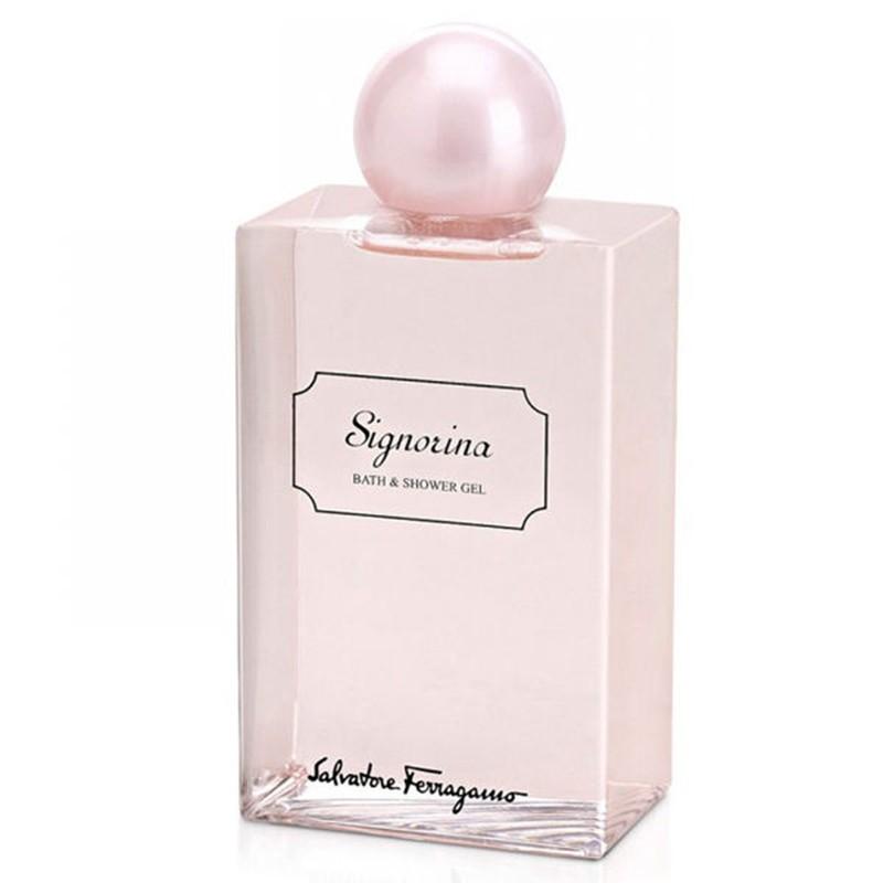 Salvatore Ferragamo Signorina Eleganza Bath & Shower Gel 200ml 200ml home   προϊοντα ομορφιασ   σώμα   μπάνιο    μπάνιο   ντους