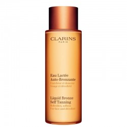 Clarins Liquid Bronze Self Tanning For Face & Decollete All Skin Types