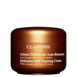 Clarins Delicious Self Tanning Cream For Face & Body All Skin Types