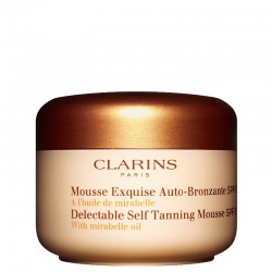Clarins Delectable Self Tanning Mousse SPF15 All Skin Types
