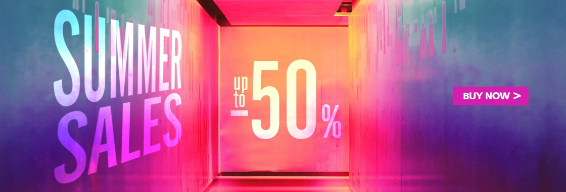Summer Sales Up To 50%